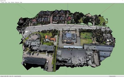 How to create 3D environmental context from drone images
